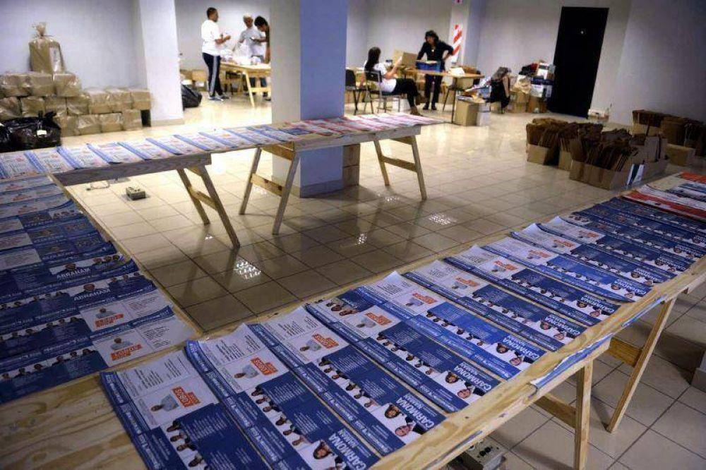 PASO: En el cuarto oscuro habrá 34 boletas de pre-candidatos a intendente