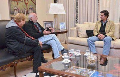 El gobernador Urtubey se reunió con el diputado Oscar Pfeiffer