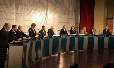 A último momento, Oscar Aguad decidió bajarse del debate del domingo