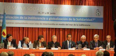 """La Semana Social tuvo su """"alfombra roja"""" política"""
