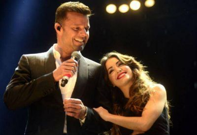 Ricky Martin y Lali Esp�sito, juntos contra la violencia