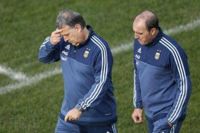 Martino no descarta cambios para la semifinal ante Paraguay