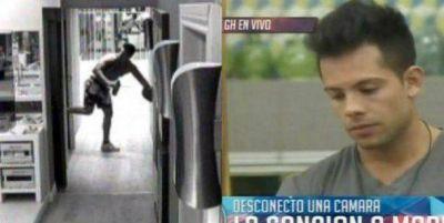 Cada vez más violento: Mariano rompió una cámara y amenazó a la producción