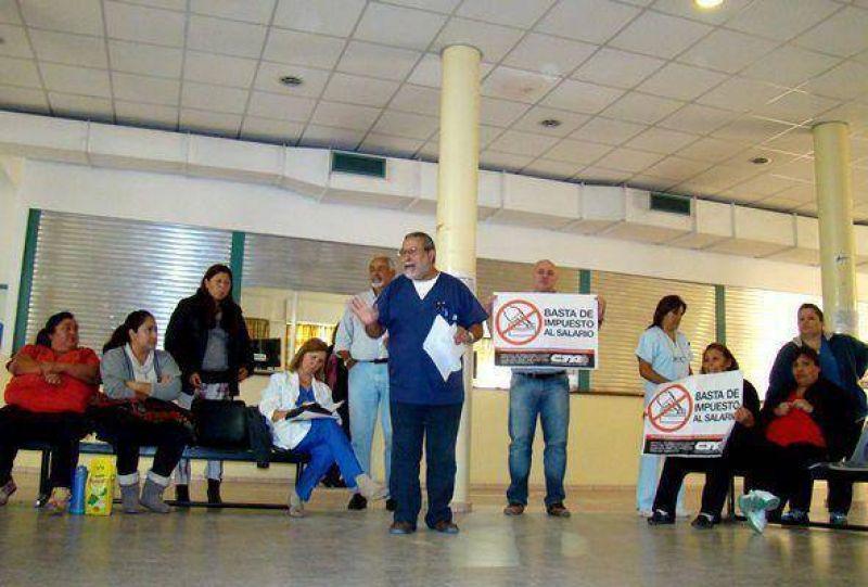 Salud: trabajadores piden otro régimen jubilatorio