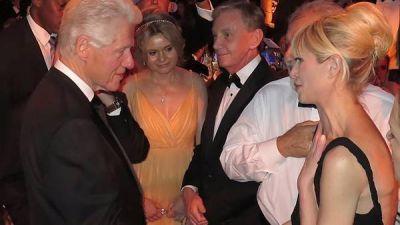 La foto de Rabolini con Clinton en plena campa�a