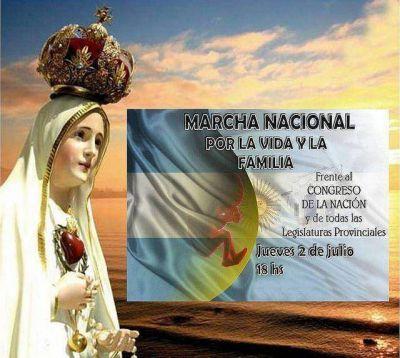 2/7: Convocatoria argentina por la Vida y la Familia