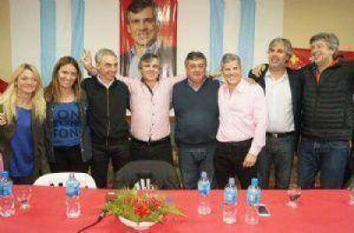 Con un discurso centrado en la seguridad Guillermo Britos presentó su lista de candidatos