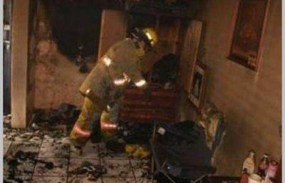 Vecino del barrio Santa Clara murió tras incendiarse su casa
