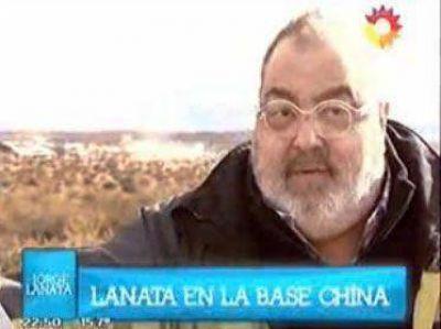 Lanata denunci� sobre el posible uso militar de la base china en Neuqu�n