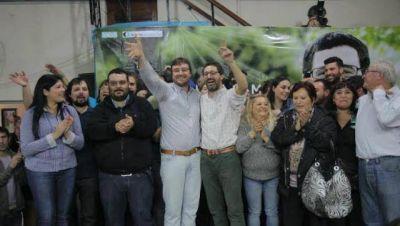 Más de 300 vecinos junto a Hernán Sabbatella en un almuerzo en Morón sur