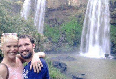 Nazarena Vélez y Gonzalo Gamarra: gritos y golpes en Iguazú