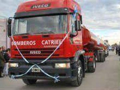 Bomberos Voluntarios incorporaron otro camión