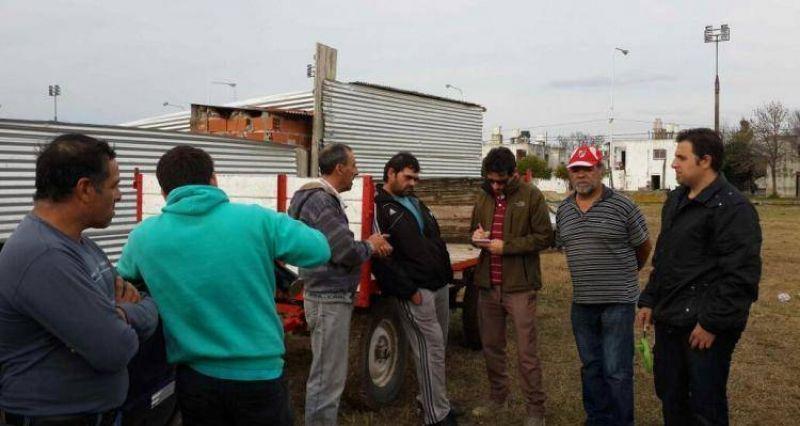 Escuela de Banfield: Trabajadores tomaron la obra