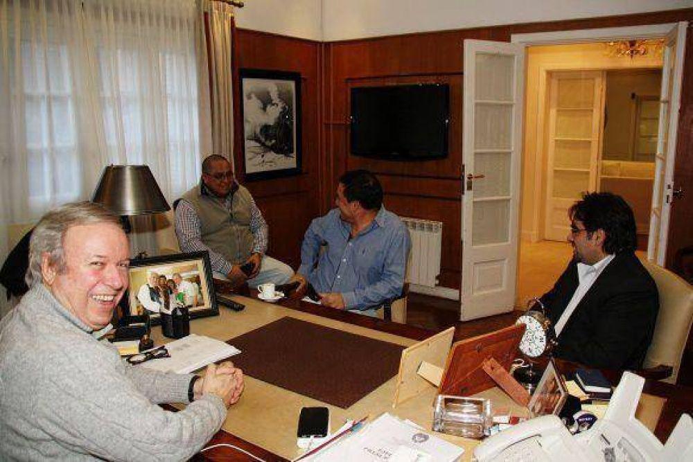Peralta se reunión con el ministro Ortiz y recibió invitación para inauguración de UTI de Las Heras