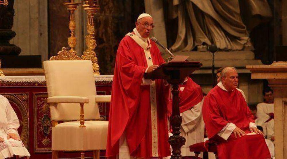 El Papa a Arzobispos: Como San Pedro y San Pablo no se avergüencen de Cristo y la Cruz