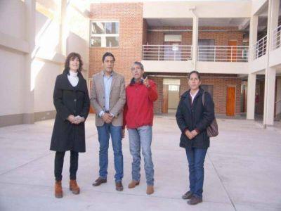 SE ENCUENTRA EN LA ETAPA FINAL LA CONSTRUCCIÓN DEL BACHILLERATO PROVINCIAL Nº 19