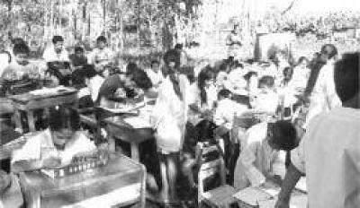 La Escuela N° 947 de Iguazú que empezó dando clases debajo de un árbol tendrá un nuevo edificio