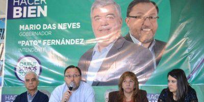 "CHUBUT SOMOS TODOS: Omar ""Pato"" Fernández presentó su Programa de Gobierno municipal"