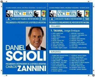 Una mendocina en la lista nacional de Scioli-Zannini