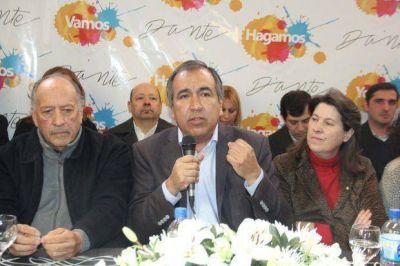 Dante Elizondo present� sus propuestas: quiere un Parque nuevo y mejorar la red vial