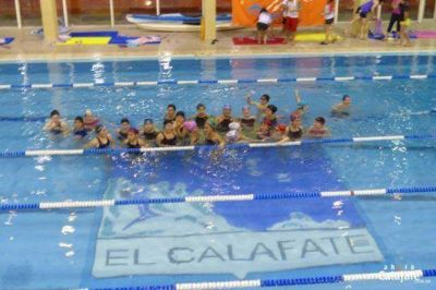 Instancia local en El Calafate para la nataci�n