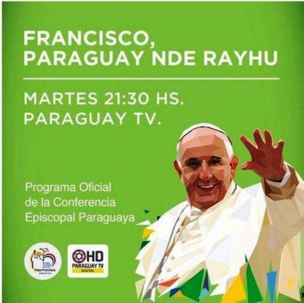 Paraguay TV emite desde este martes programa especial sobre visita papal