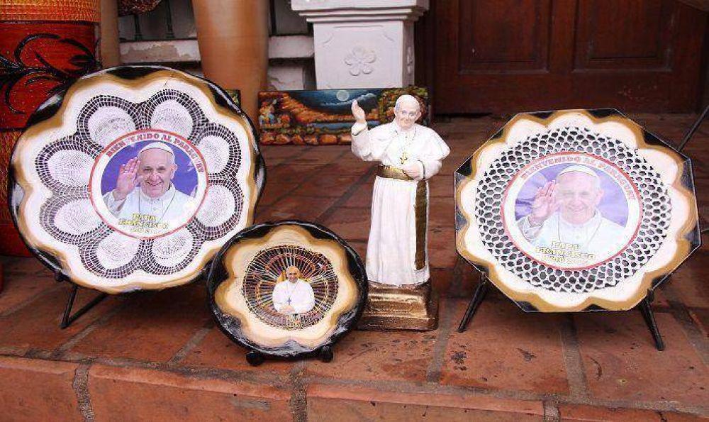 Papa Francisco en obras de arte