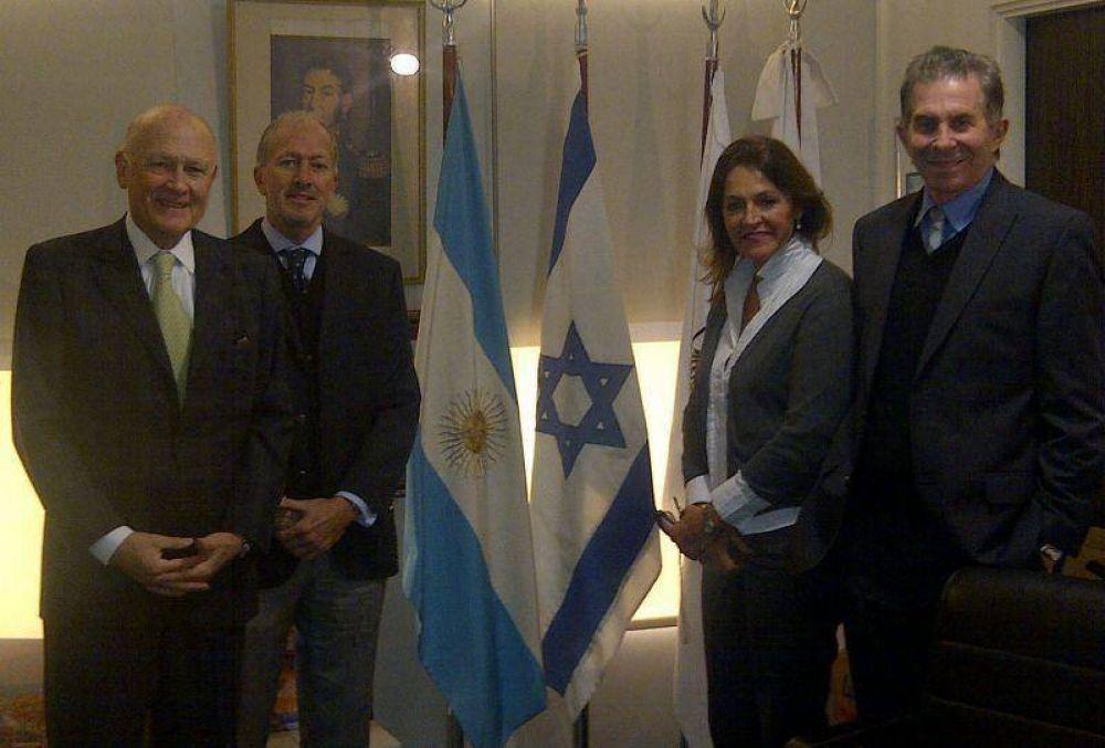 La DAIA se reunió con Marcela Campagnoli