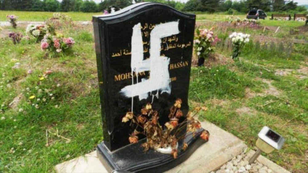 Extremistas británicos profanan tumbas de musulmanes en Nottingham