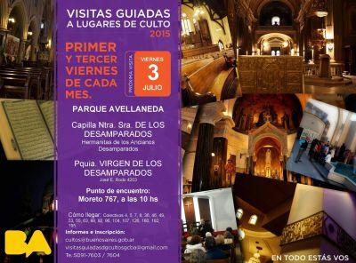 Visita guiada a lugares de culto de Parque Avellaneda