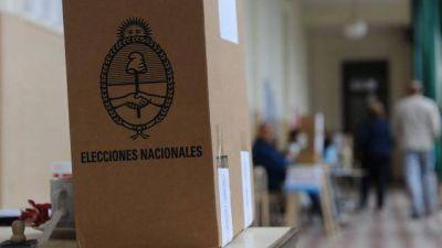 En la provincia est�n habilitados para votar m�s de un mill�n de entrerrianos