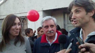 Ernesto Casaretto, Eugenia Vidal y Segundo Cernadas en el Barrio Las Tunas