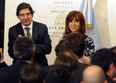 Cristina firmó el contrato para la construcción de la Estación Depuradora de Aguas Residuales