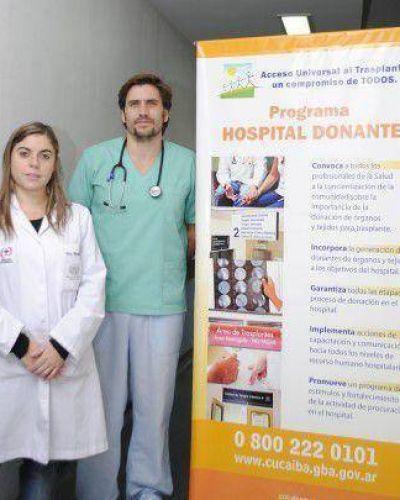 El Interzonal, entre los hospitales con mayor donación de órganos