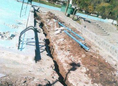 Iparraguirre se mostró satisfecho por las obras en el Balneario Municipal