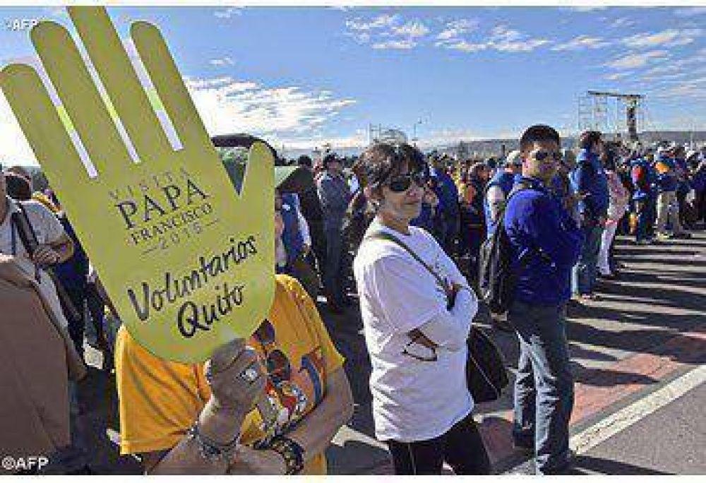 En Ecuador esperamos el mensaje de Jesús, que nos trae el Papa Francisco