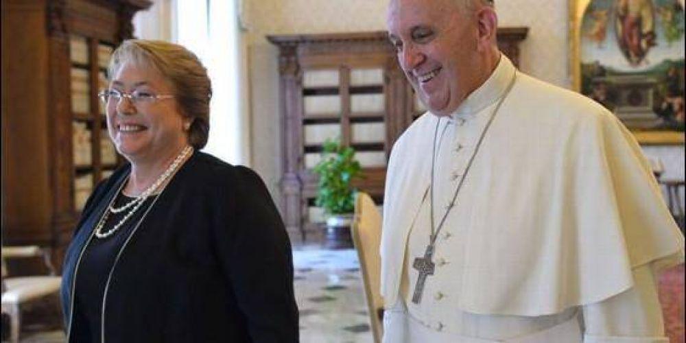 El Papa aboga por que Chile y Bolivia