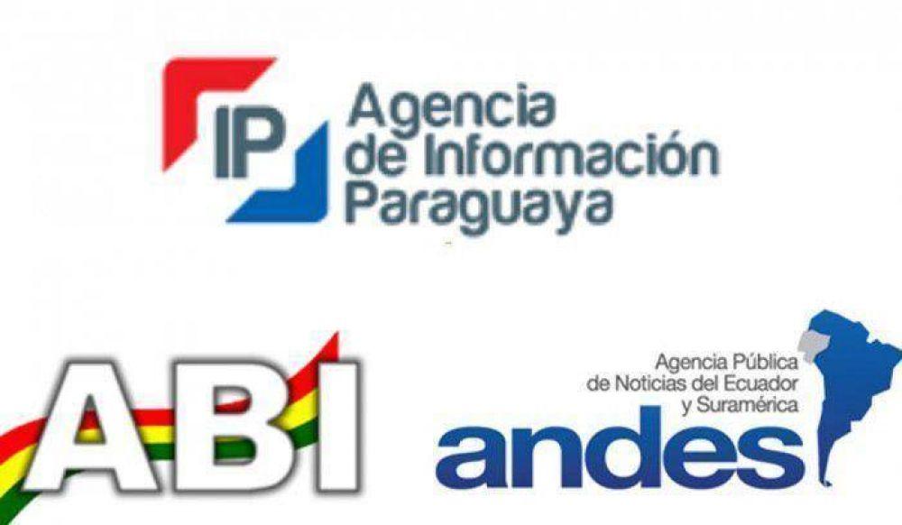 Gira papal: Agencias de Paraguay, Ecuador y Bolivia harán cobertura conjunta