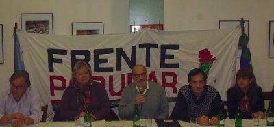 El Frente Popular presentó candidatos en Vicente López