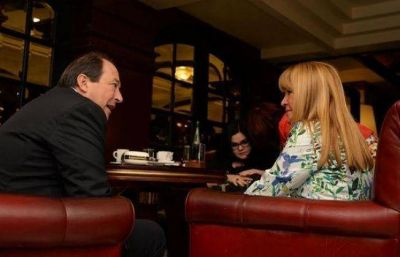 Aída se reunió con Sanz, de cara a las PASO nacionales