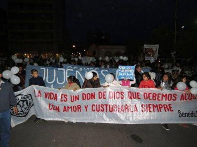 """Jujuy realizó su """"Marcha por la Vida"""""""