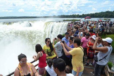 Cataratas del Iguazú, ya la visitaron más de 650 mil turistas en lo que va del año