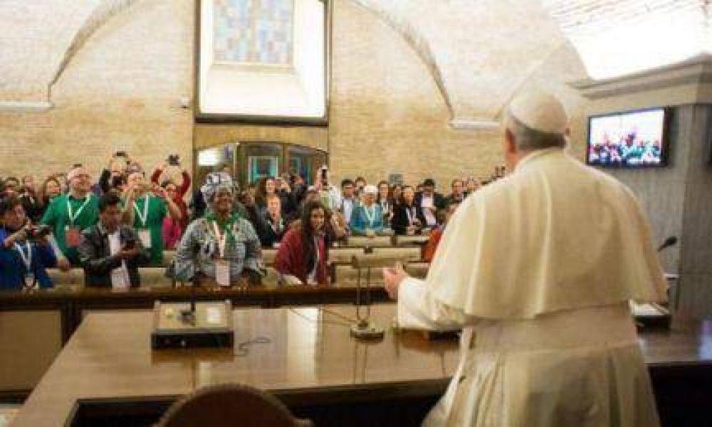 Papa-movimientos populares. El diálogo continúa en los Andes.