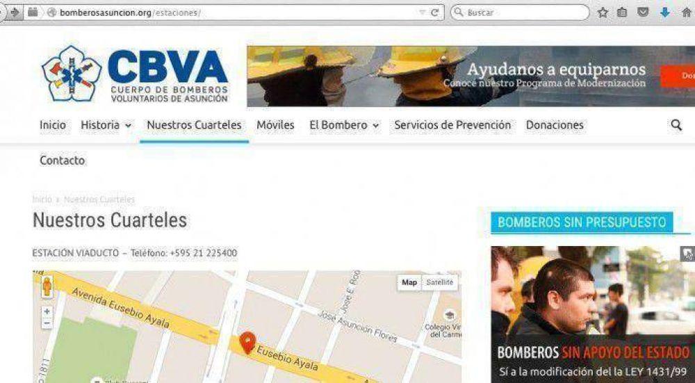 Bomberos de Asunción pondrán 100% de sus recursos para venida del Papa