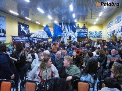 El Frente para la Victoria presentó a sus candidatos oficialmente en Patagones