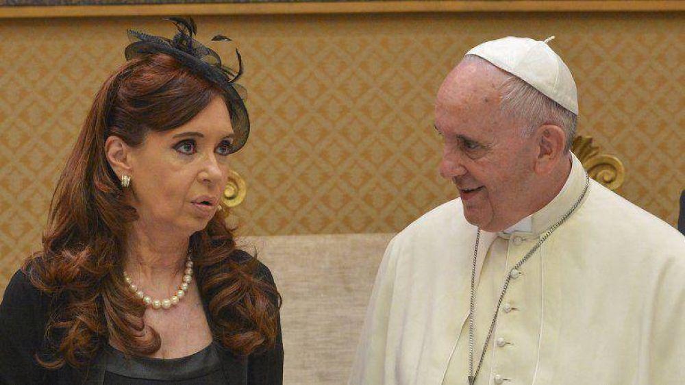 Cristina Kirchner volverá a encontrarse con el Papa en Paraguay
