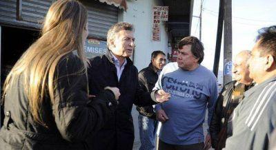 Mauricio Macri visit� una f�brica en Escobar junto a Leandro Costa