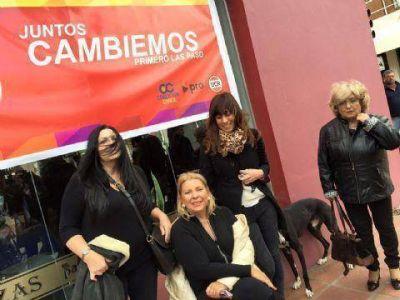 Carrió visitó Salto y respaldó a los candidatos locales del Frente Cambiemos