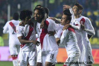 Perú entró al podio en el tercer lugar, luego de ganarle a Paraguay