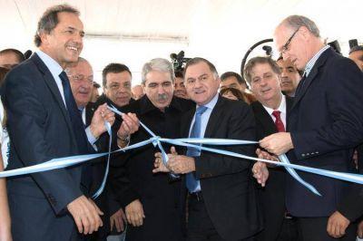 Julio Pereyra y Daniel Scioli inauguraron el hospital de atención intermedia en Km 26